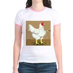 Cornish/Rock Hen Jr. Ringer T-Shirt