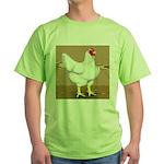 Cornish/Rock Hen Green T-Shirt