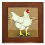 Cornish/Rock Hen Framed Tile