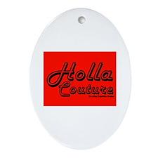 Holla Couture Keepsake (Oval)