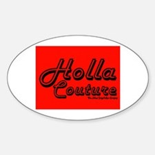 Holla Couture Oval Decal