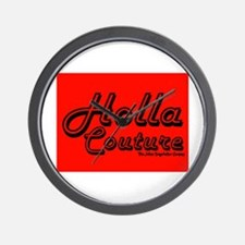 Holla Couture Wall Clock