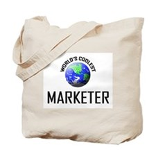 World's Coolest MARKETER Tote Bag