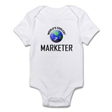 World's Coolest MARKETER Infant Bodysuit
