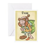 Trow Greeting Cards (Pk of 10)