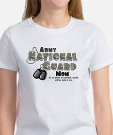 National Guard Mom Women's T-Shirt