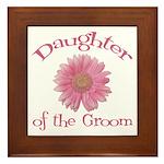 Daisy Groom's Daughter Framed Tile