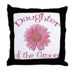 Daisy Groom's Daughter Throw Pillow