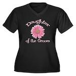 Daisy Groom's Daughter Women's Plus Size V-Neck Da