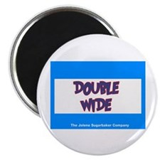 """Double Wide 2.25"""" Magnet (10 pack)"""