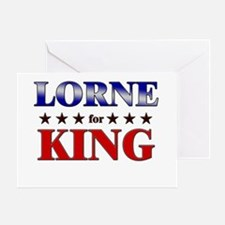 LORNE for king Greeting Card