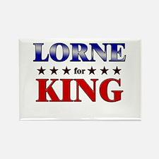 LORNE for king Rectangle Magnet