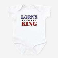LORNE for king Infant Bodysuit