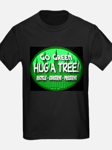 Go Green Hug A Tree 2008a T