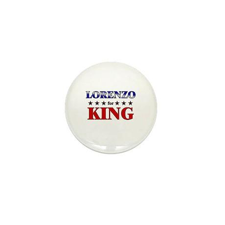 LORENZO for king Mini Button (10 pack)