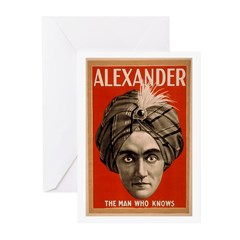 Alexander, the Man Who Knows Greeting Cards (Pk of