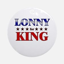 LONNY for king Ornament (Round)