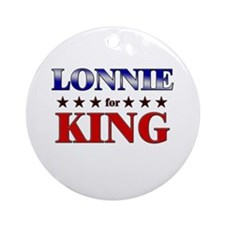 LONNIE for king Ornament (Round)