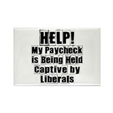 Help! My Paycheck is Being Held Captive by Liberal