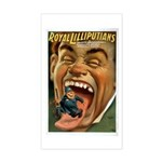 Royal Lilliputians Rectangle Sticker
