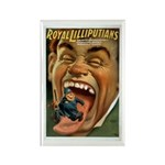 Royal Lilliputians Rectangle Magnet (10 pack)
