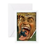 Royal Lilliputians Greeting Card