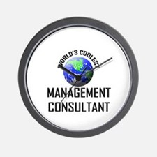 World's Coolest MANAGEMENT CONSULTANT Wall Clock