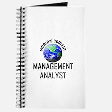 World's Coolest MANAGEMENT ANALYST Journal