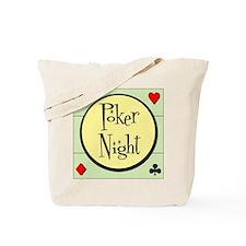 Retro Poker Tote Bag