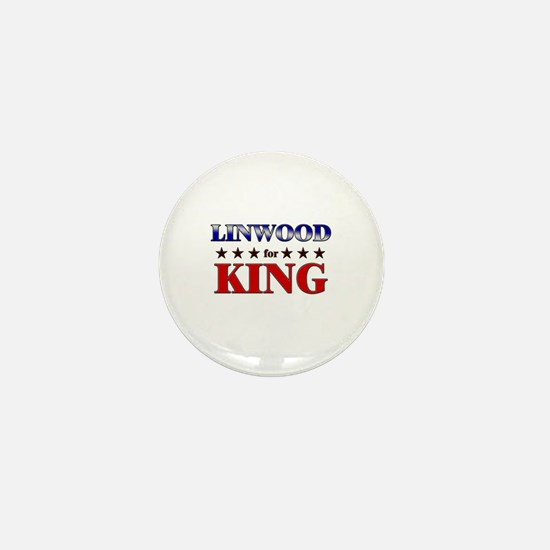 LINWOOD for king Mini Button