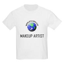 World's Coolest MAKEUP ARTIST T-Shirt
