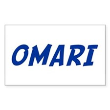 OMARI Rectangle Decal