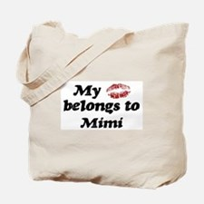 Kiss Belongs to Mimi Tote Bag