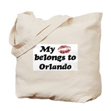 Kiss Belongs to Orlando Tote Bag