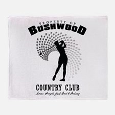 Bushwood Country Club Throw Blanket