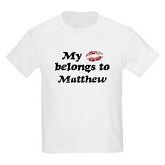 Kiss Belongs to Matthew T-Shirt