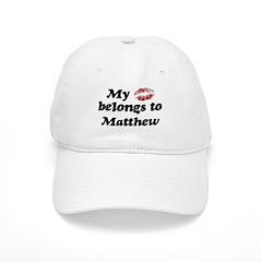 Kiss Belongs to Matthew Baseball Cap