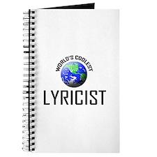 World's Coolest LYRICIST Journal