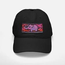 PURPLE ELEPHANT Baseball Hat