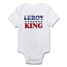 LEROY for king Infant Bodysuit