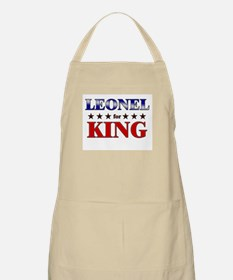 LEONEL for king BBQ Apron