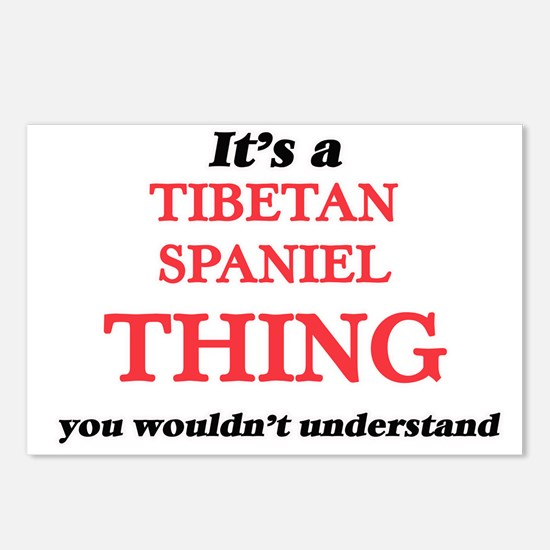 It's a Tibetan Spanie Postcards (Package of 8)