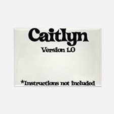 Caitlyn - Version 1.0 Rectangle Magnet