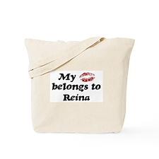 Kiss Belongs to Reina Tote Bag