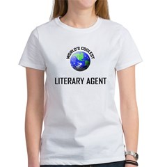World's Coolest LITERARY AGENT Tee