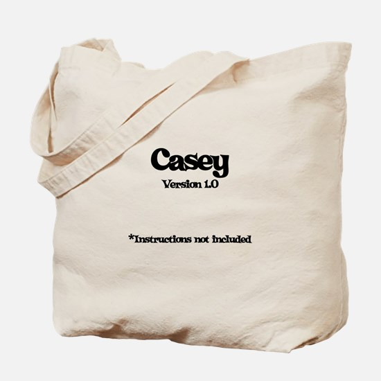 Casey - Version 1.0 Tote Bag