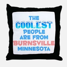 Coolest: Burnsville, MN Throw Pillow