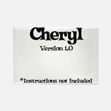 Cheryl - Version 1.0 Rectangle Magnet