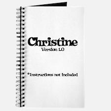 Christine - Version 1.0 Journal