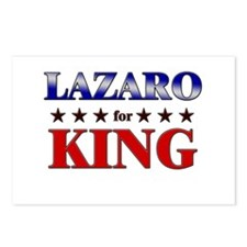 LAZARO for king Postcards (Package of 8)